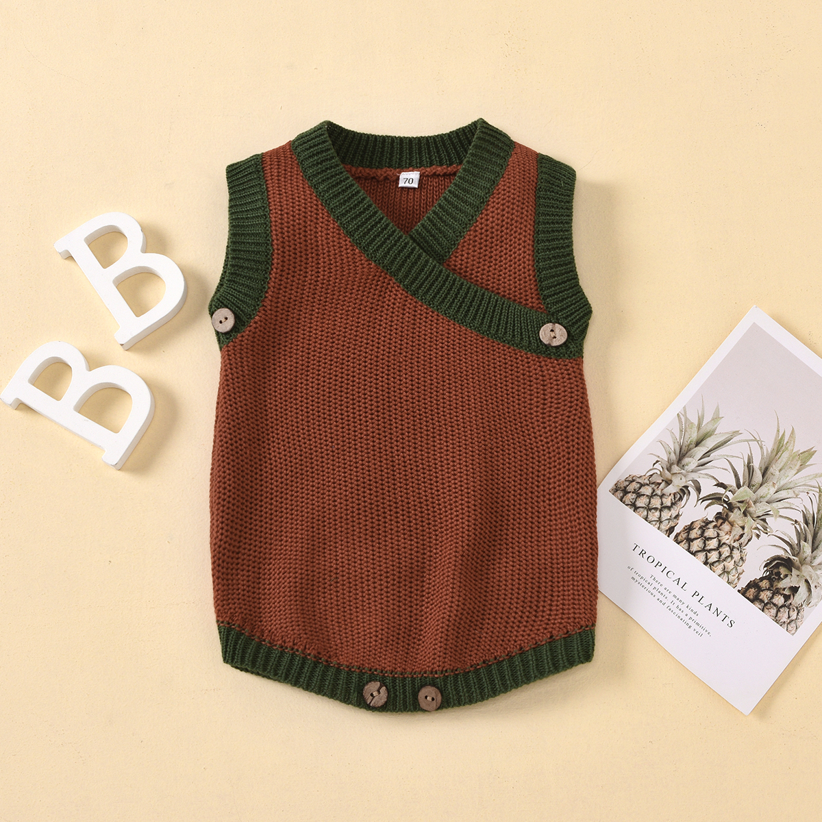 Baby Stylish Knitted Romper